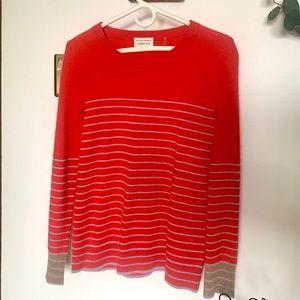 WHITE + WARREN Essential Cashmere Crewneck Sweater